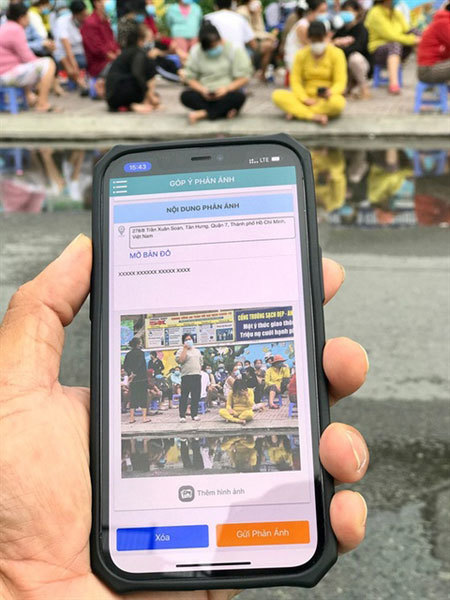 Covid-19 news,hcm city,Vietnamese apps,hi-tech solutions