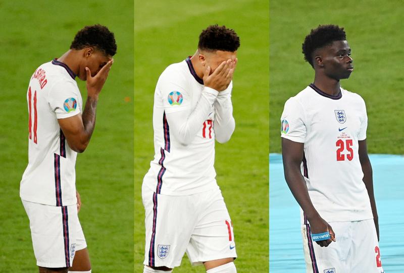 Cầu thủ Anh sốc khi Saka được chọn đá penalty