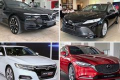 Sedan giá 1 tỷ: VinFast Lux A2.0 áp đảo Toyota Camry