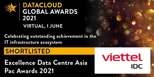 Viettel IDC lập 'hat-trick' giải thưởng về công nghệ thông tin