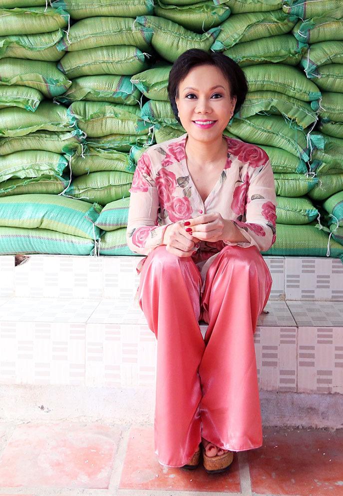 Khánh Vân, Đàm Vĩnh Hưng và sao Việt giúp người dân Sài Gòn