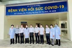 Bí thư TP.HCM Nguyễn Văn Nên khảo sát Bệnh viện Hồi sức Covid-19