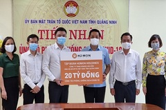 HDMon Holdings ủng hộ Quảng Ninh 20 tỷ đồng chống dịch