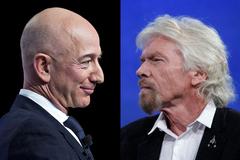 Tỷ phú Jeff Bezos sẽ bay vào vũ trụ khác Richard Branson như thế nào?