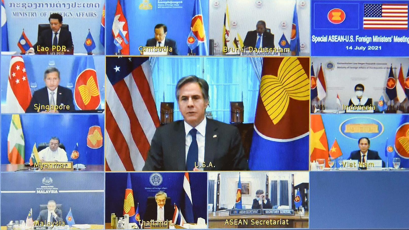 Việt Nam hoan nghênh Mỹ đã hỗ trợ vắc xin Covid-19 cho ASEAN