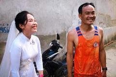 Chàng nông dân nuôi ốc chạy bộ 19km đón vợ trong ngày cưới