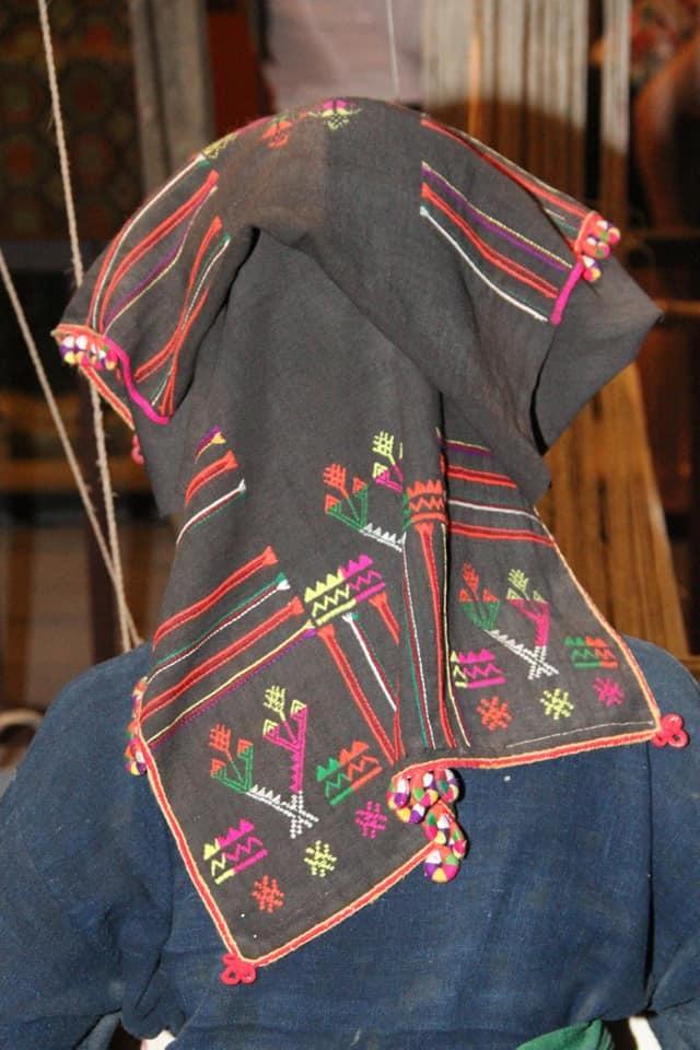 Ý nghĩa chiếc khăn Piêu đội đầu của người Thái Đen