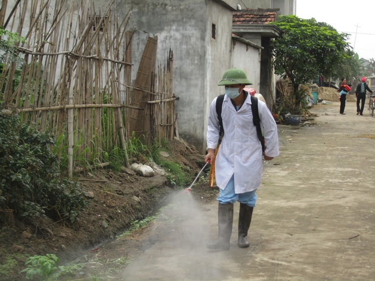 Xuất hiện ổ dịch cúm gia cầm A/H5N6 ở Nghệ An