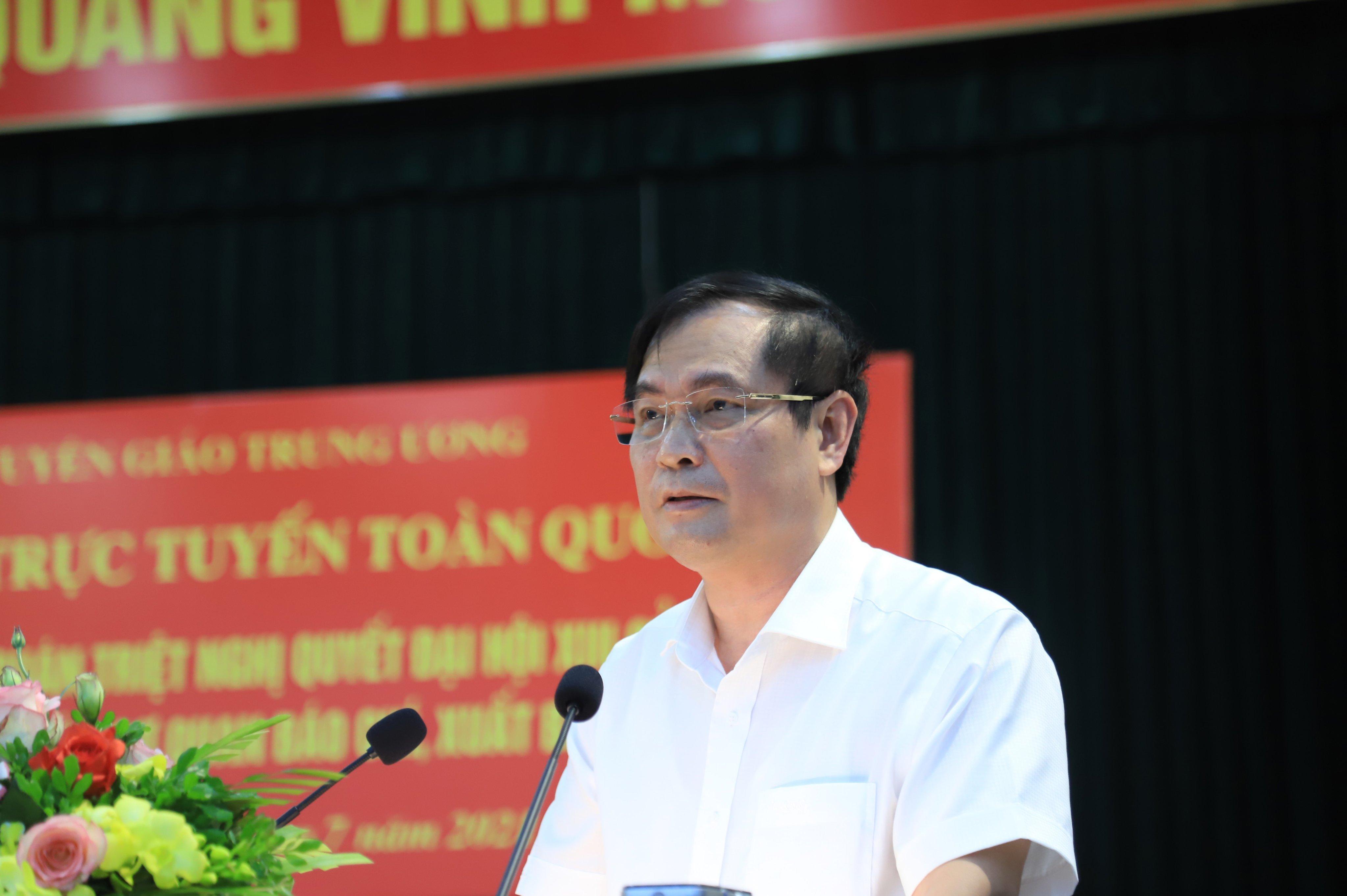 2.900 lãnh đạo cơ quan báo chí, xuất bản được quán triệt nghị quyết Đại hội XIII