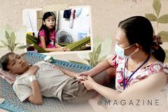 Mắc kẹt ở Sài Gòn: Người cha chỉ dám gọi một phần cơm nhạt, người mẹ cùng đường