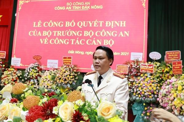 Đắk Nông có tân Giám đốc công an tỉnh