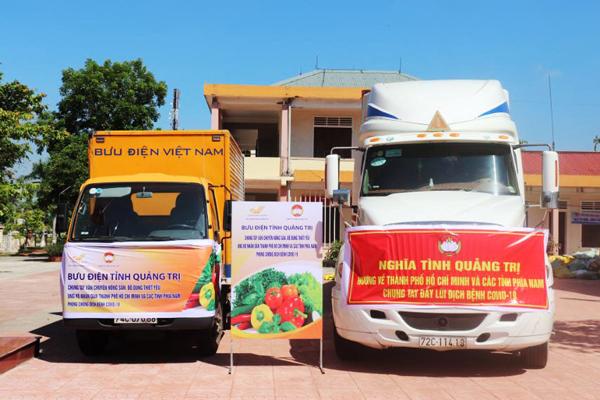 TP.HCM: Mua rau, thịt bình ổn giá và hàng thiết yếu tại các bưu điện