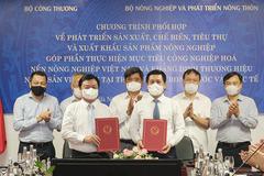 Xây dựng thương hiệu nông sản Việt Nam tại thị trường trong nước và quốc tế