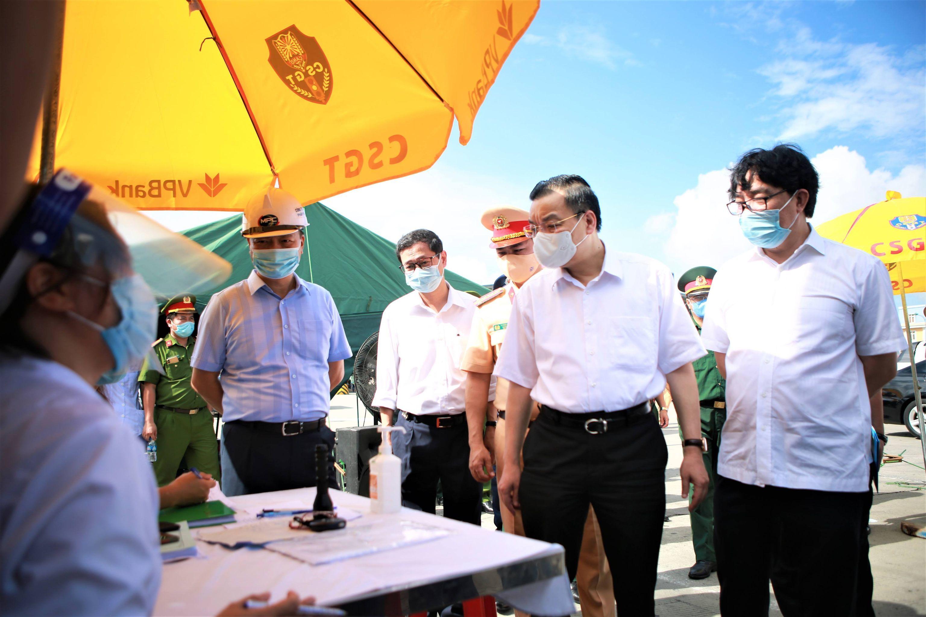 Chủ tịch Chu Ngọc Anh: Ứng dụng công nghệ theo dõi dịch Covid-19 ở chốt vào Hà Nội