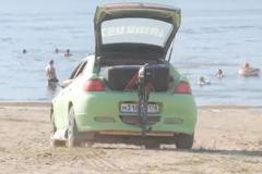 Chiếc Mazda này có thể chạy dưới nước như thuyền