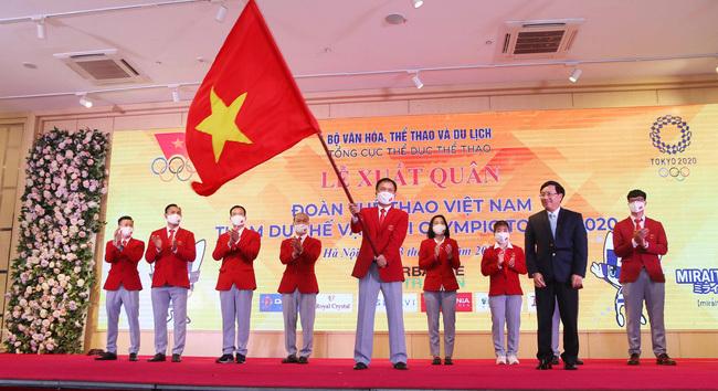 Lịch thi đấu Đoàn thể thao Việt Nam tại Olympic 2020