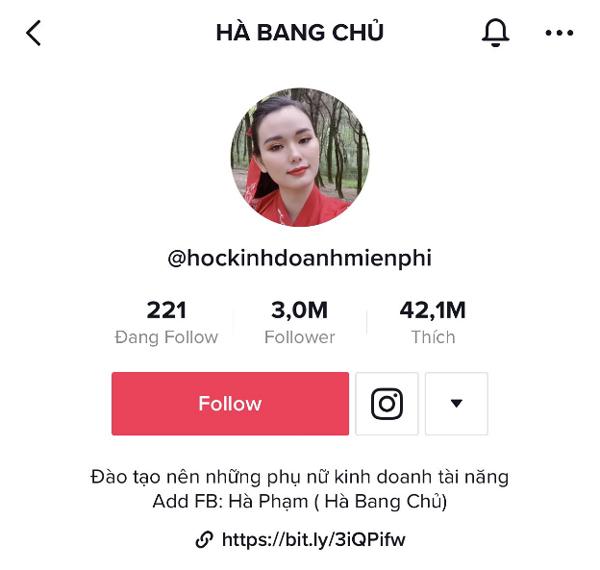 Nữ doanh nhân 9X sở hữu kênh TikTok 3 triệu followers