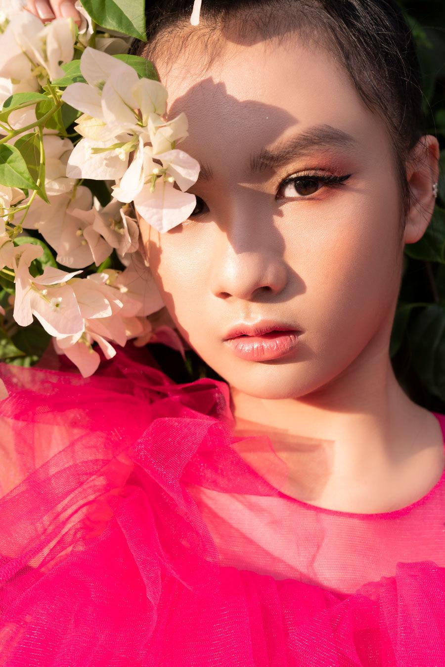 Mẫu nhí Vân Anh xinh đẹp xuất thần từ thuở 13