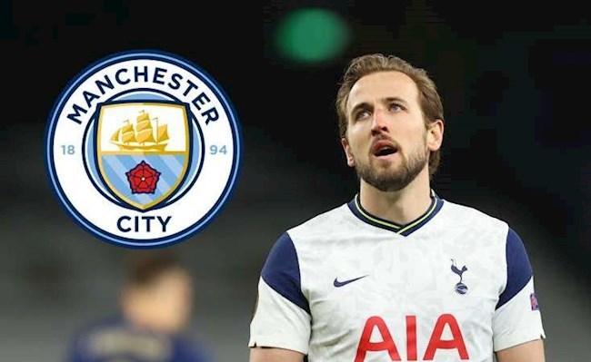 Harry Kane… hụt Man City như thua chung kết EURO 2020