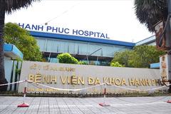 Xử lý bệnh viện tư nhân đăng thông báo tiêm vắc xin Covid-19 dịch vụ