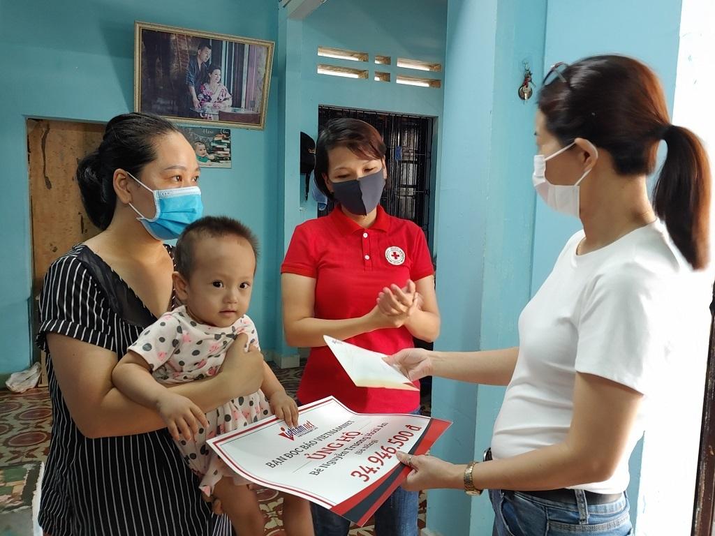 Bạn đọc báo VietNamNet hỗ trợ hai hoàn cảnh khó khăn ở Đà Nẵng hơn 52 triệu đồng