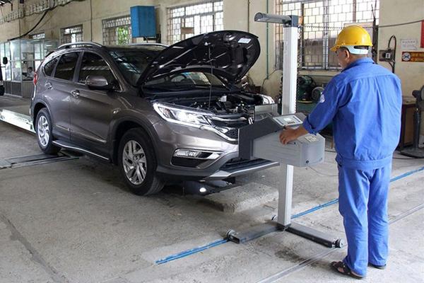 Vì sao ô tô mới 100% vẫn phải đưa đi kiểm định chất lượng?