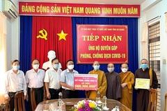 Ban Trị sự Giáo hội Phật giáo Việt Nam tỉnh An Giang ủng hộ công tác phòng, chống COVID-19
