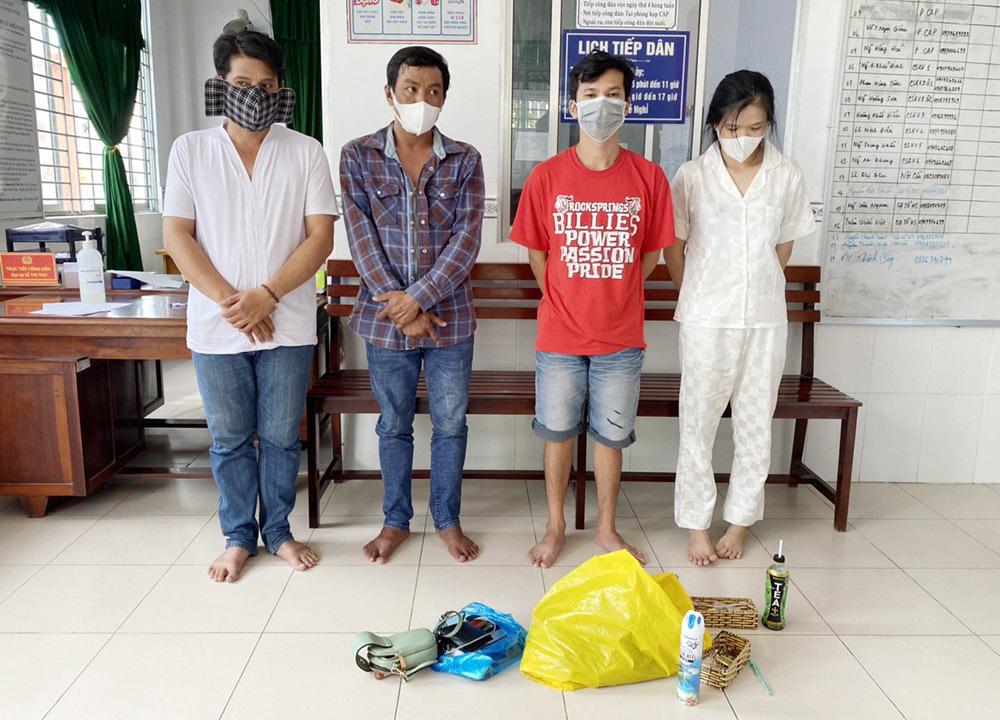 Bất chấp lệnh giãn cách, 4 nam nữ phê ma túy trong nhà nghỉ ở Cần Thơ