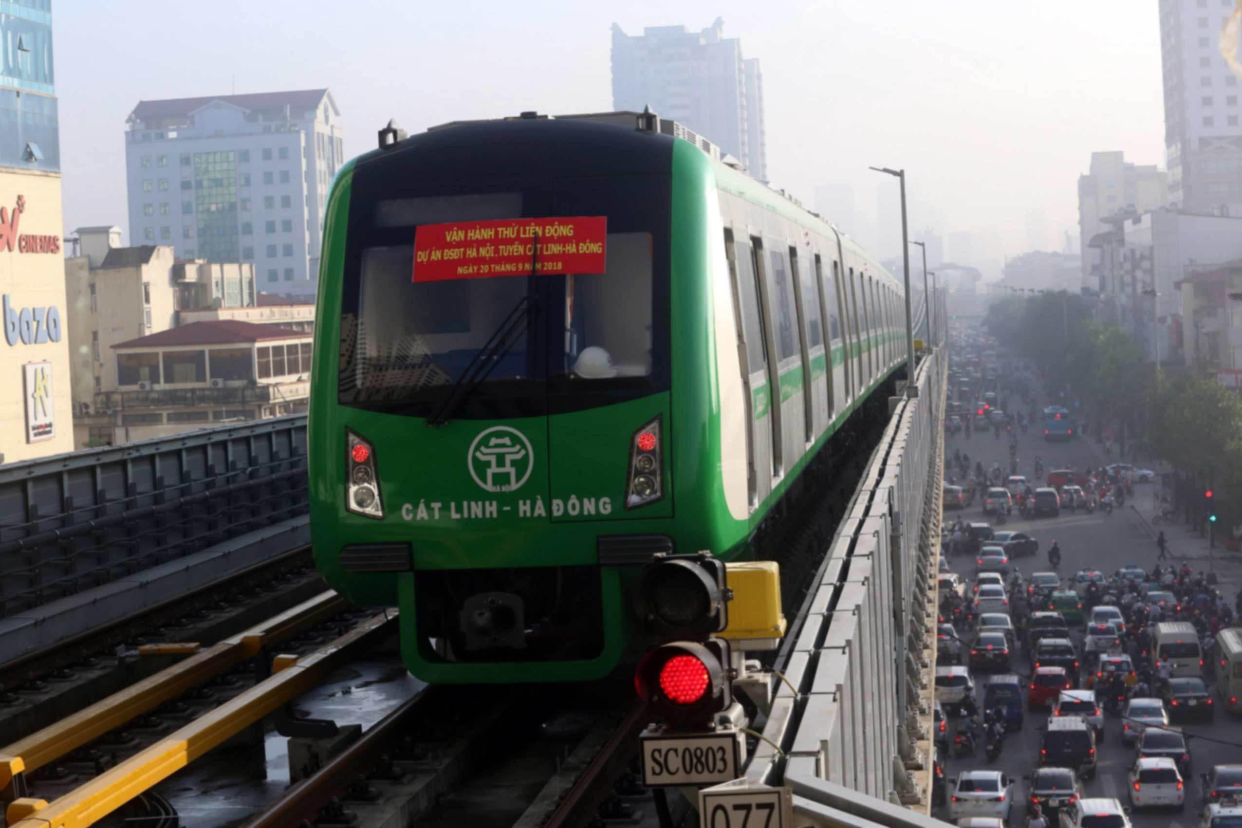 Bộ GTVT nói về điều kiện vận hành của đường sắt Cát Linh - Hà Đông