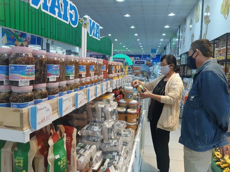 150 gian hàng tại Ngày hội hàng hóa đặc trưng ở An Giang