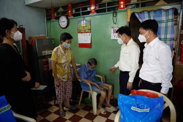 Triển khai 'Giữtổ ấm giữađại dịch' tiếp sức người lao động TP.HCM
