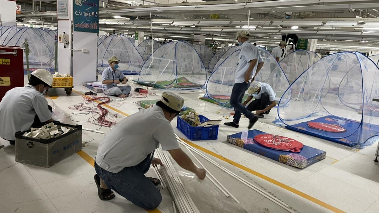 Bình Dương buộc doanh nghiệp ngừng hoạt động nếu không có chỗ ở cho công nhân