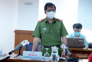 Công an TP.HCM tuân thủ quy định phòng dịch khi bắt tử tù