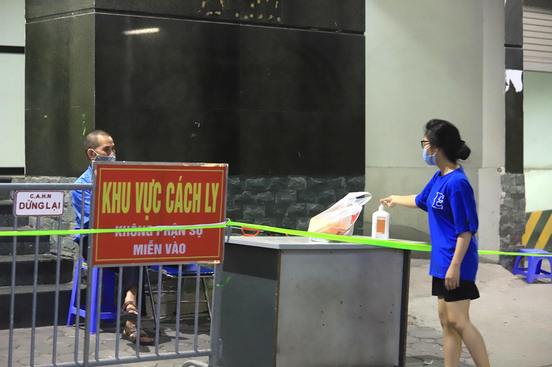 Hà Nội phong tỏa tạm thời chung cư 1.200 dân ở quận Hà Đông