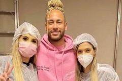 Neymar làm kiểu tóc kỳ quái để… xả xui