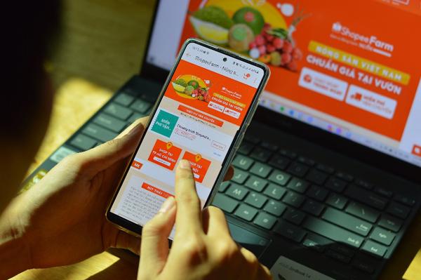 Shopee tiêu thụ nông sản Hưng Yên, giao hàng trong ngày ngay đầu vụ nhãn