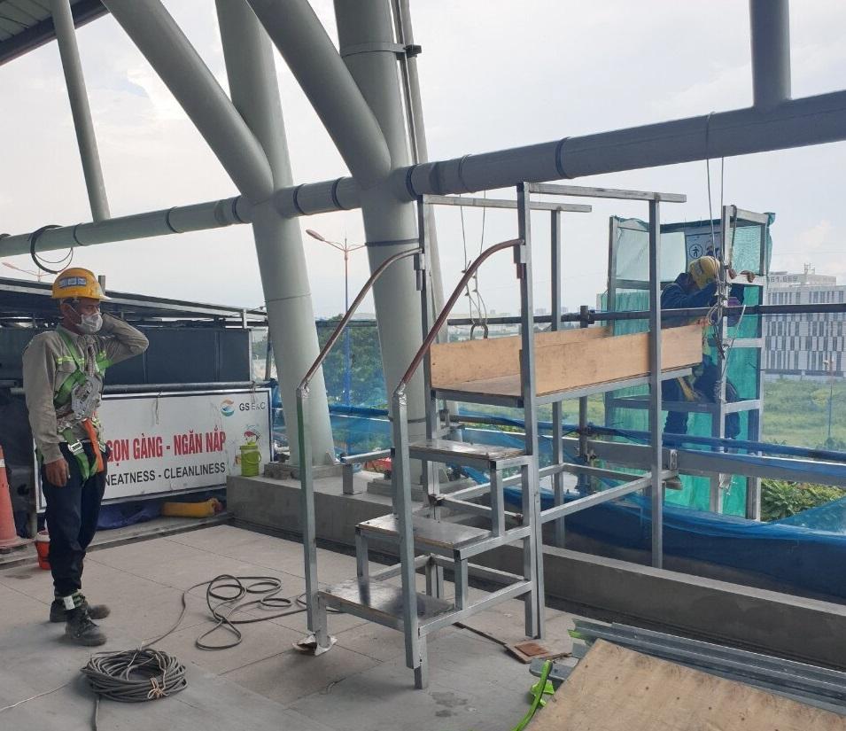 TP.HCM thông tin việc tư vấn dừng giám sát công trường metro vì dịch Covid-19