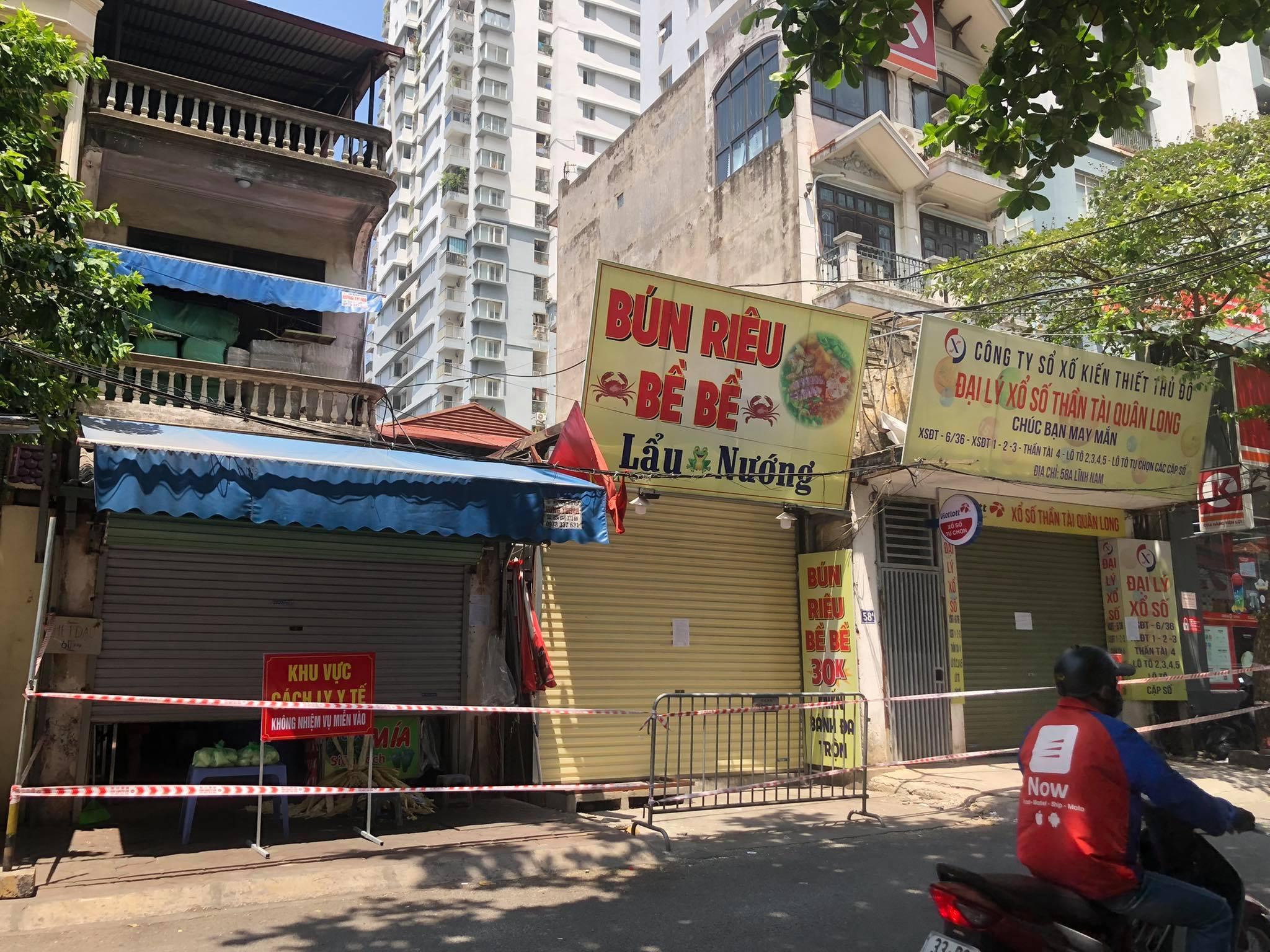 Thêm nhiều điểm dân cư ở Hà Nội bị phong tỏa do liên quan ca Covid-19
