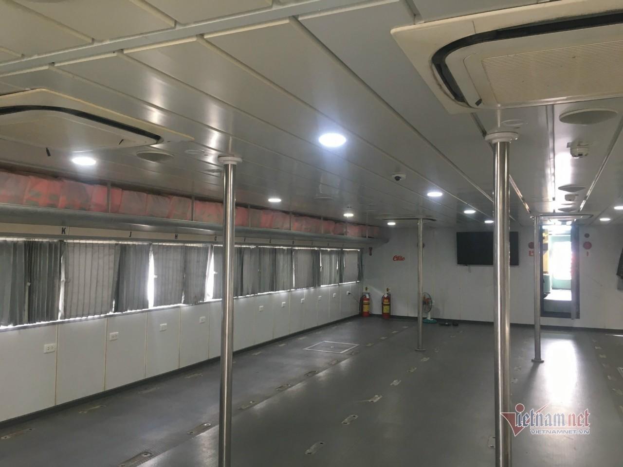Công bố lộ trình tàu cao tốc vận chuyển hàng thiết yếu từ miền Tây về TP.HCM