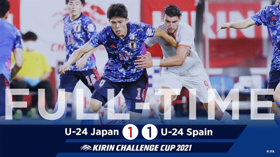Olympic Nhật Bản gây bất ngờ trước Tây Ban Nha