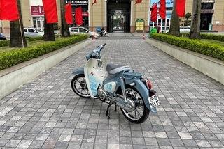 Honda Cub C125 cũ biển ngũ quý giá 400 triệu đồng tại Hà Nội
