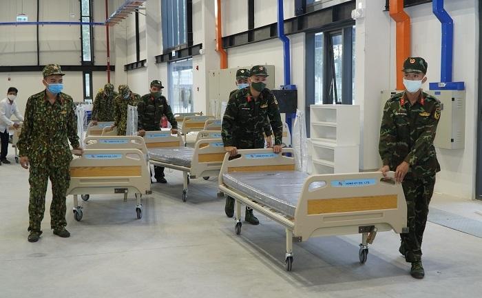 Bình Dương kích hoạt bệnh viện dã chiến 1.500 giường sau 5 ngày thi công