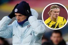 Diễn biến mới Chelsea ký Haaland, Thomas Tuchel nhăn mặt
