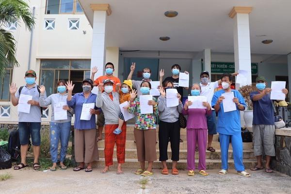 Phú Yên có 16 bệnh nhân Covid-19 được xuất viện