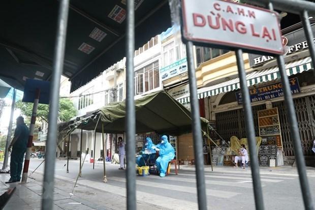 Hanoi,Covid-19,infections,social news