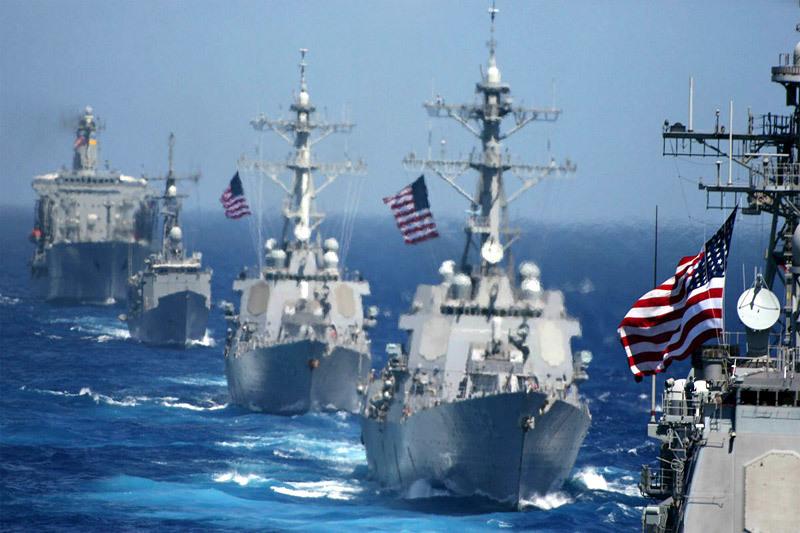 Quy mô khủng của hạm đội 7 hải quân Mỹ