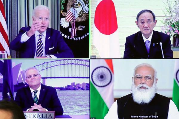 Mỹ đề xuất họp trực tiếp nhóm Bộ Tứ ứng phó với Trung Quốc