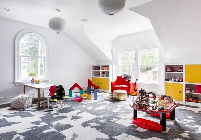 Những mẫu thiết kế khu vui chơi tại nhà mùa dịch khiến trẻ thích mê