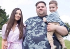 Hot girl Australia bị miệt thị vì lấy chồng béo phì