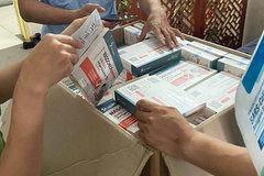 Hà Nội: Thu giữ hơn 3.000 que test nhanh Covid-19 trôi nổi
